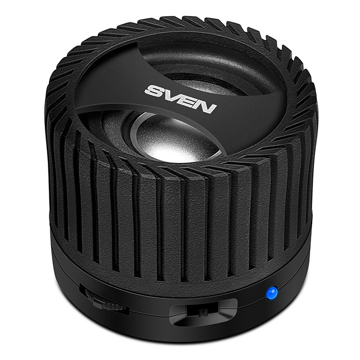 Колонки Sven PS-40BL Black (3W, Bluetooth, FM, аккумулятор)