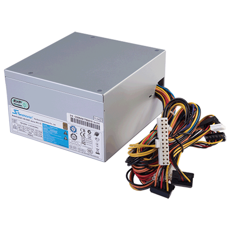 Блок питания 400W Seasonic SS-400ET Active PFC F3 Bronze (120мм, 24+4+8pin, 1x 6pin, 5х Molex, 4x SATA, 80Plus Bronze, APFC)