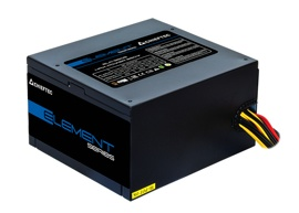 Блок питания 500W Chieftec Element ELP-500S (120мм, 24+4pin, 1x6/8pin, 2xMolex, 3xSATA, 80 PLUS Bronze)