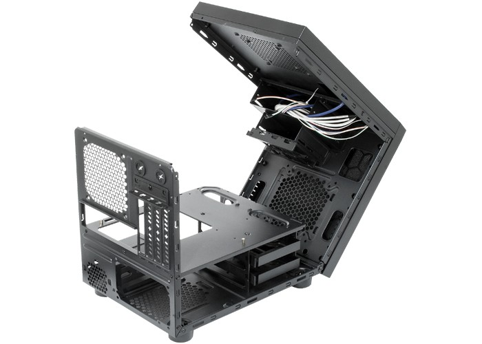 Корпус Chieftec Gaming Cube (CI-01B-OP) (Minitower, mATX, USB 3.0, без БП)