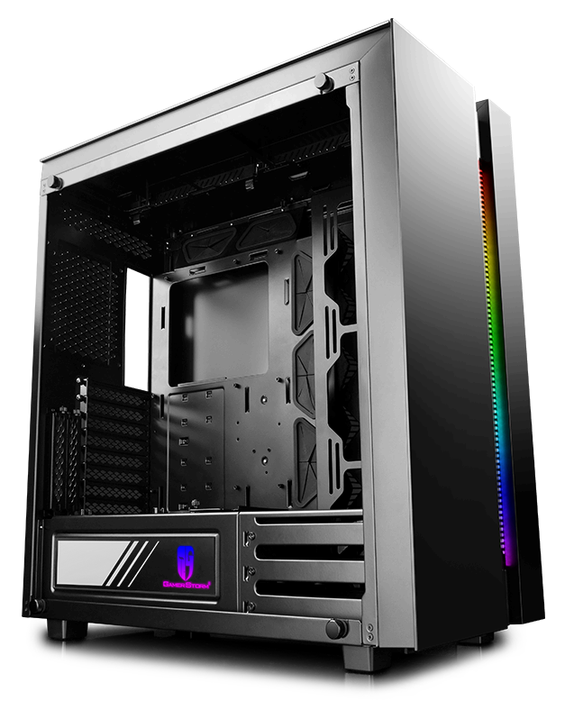 Корпус Deepcool NEW ARK 90SE (DP-ATX-NARK90SE) Black (Fulltower, E-ATX, USB3, СВО, Window, RGB подсветка)