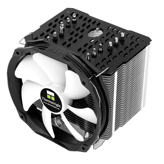 Вентилятор Thermalright Macho Rev.B (300 ~ 1300 об/мин, 16.9 ~ 73.6 CFM, 15 ~ 21 дБ(А), 4-pin, 280W) (Socket All)