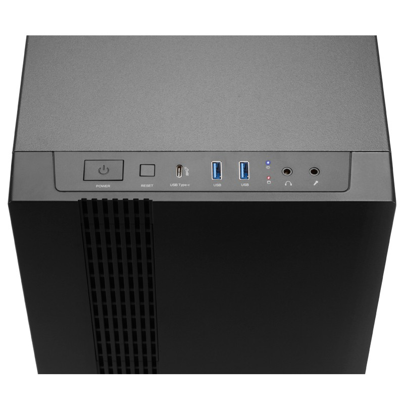 Корпус Chieftec UNI Cube (UK-02B-OP) Black (Miditower, ATX, 1х USB3.1 Type-C, 2х USB3.0, без БП)