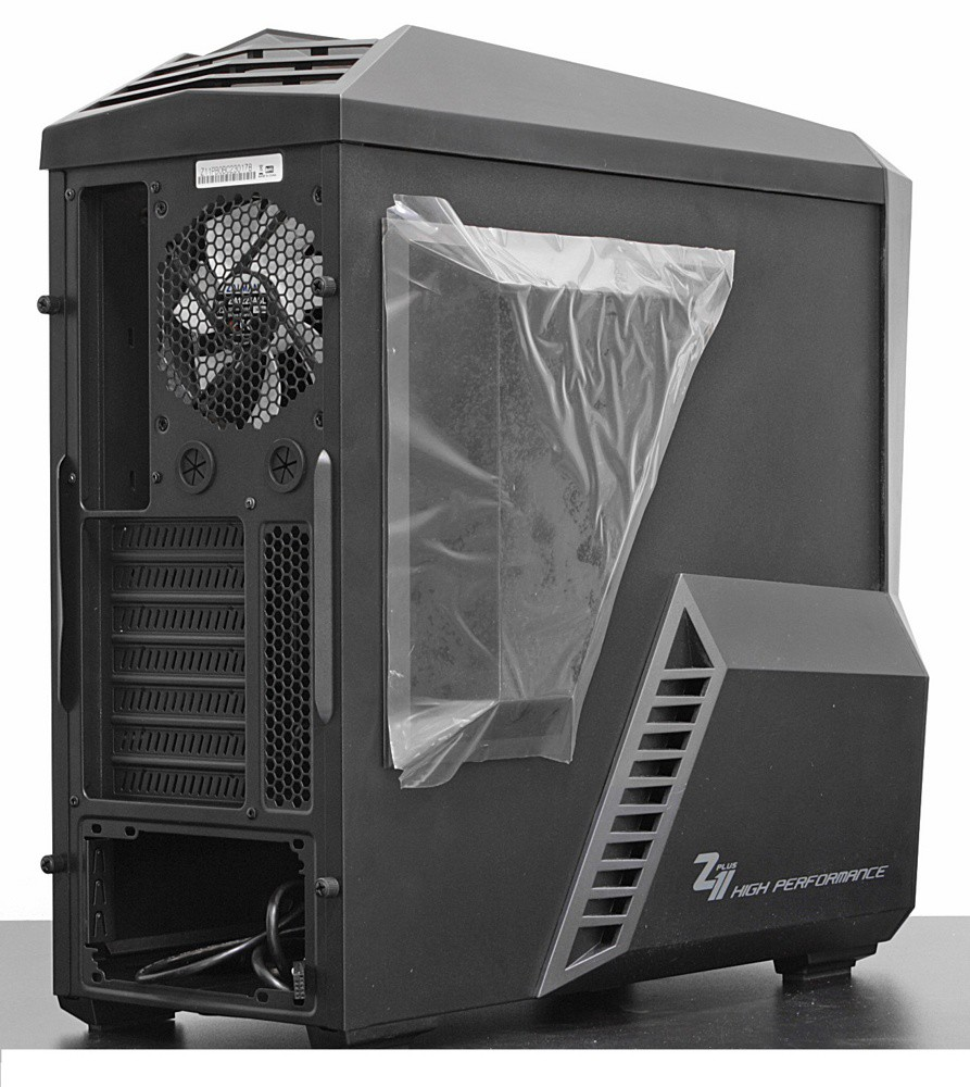 Корпус Zalman Z11 Plus Black (Window, Tower, ATX/mATX, USB 3.0)