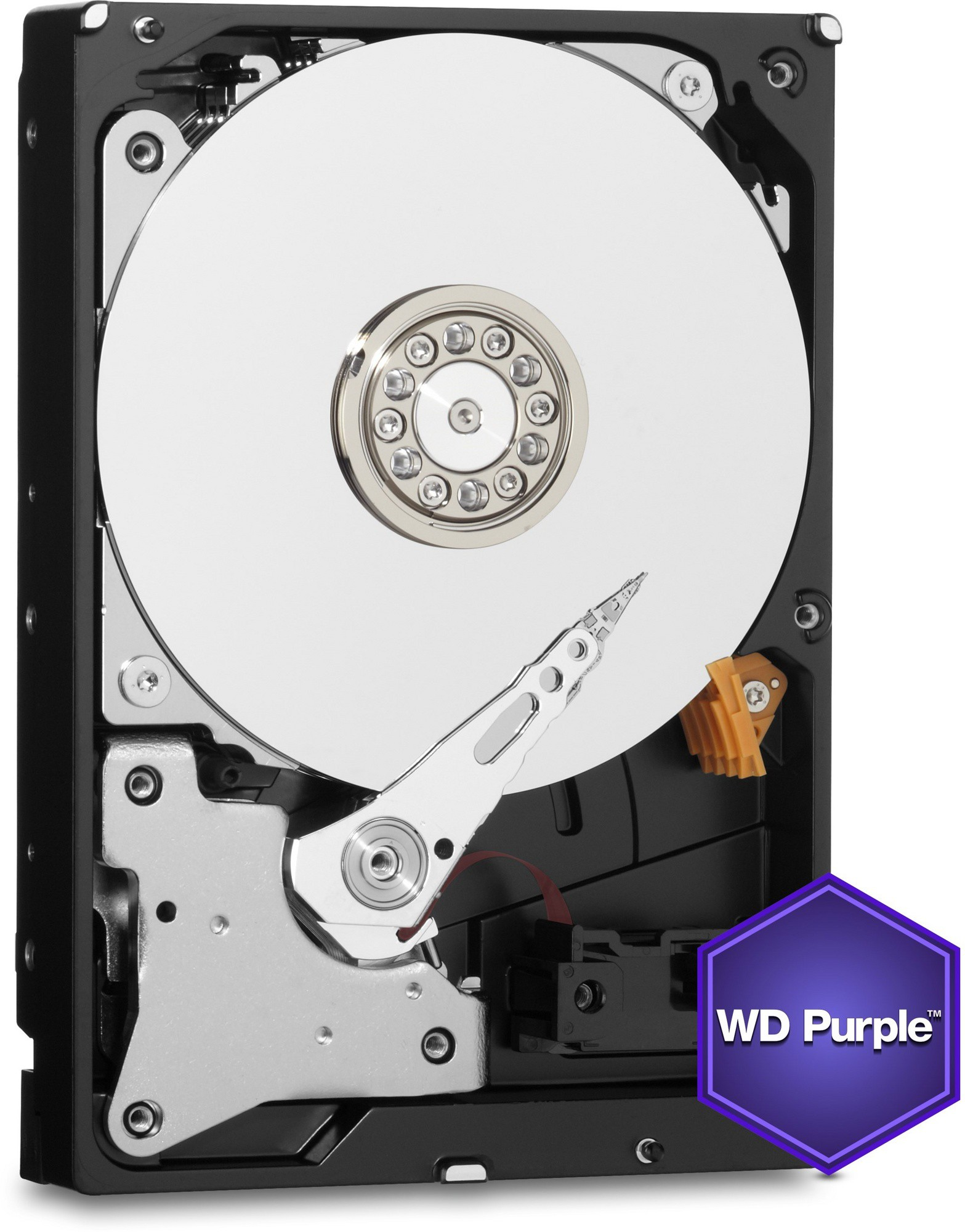Жесткий диск 2Tb Western Digital WD20PURZ Purple (SATA-6Gb/s, 5400rpm, 64Мb)