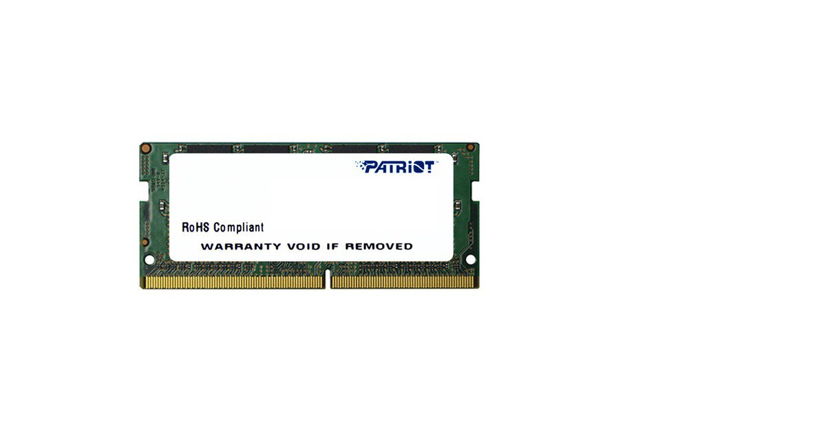 Модуль памяти 4Gb Patriot Signature Line PSD44G240082S 2400MHz PC-19200 17-17-17 1.2V