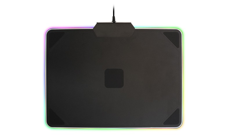 Коврик для мыши Cooler Master MasterAccessory RGB Hard Gaming Mousepad (MPA-MP720) (Игровой, RGB подсветка, ткань+резина+металл, 350х2х264мм, USB 2.0)