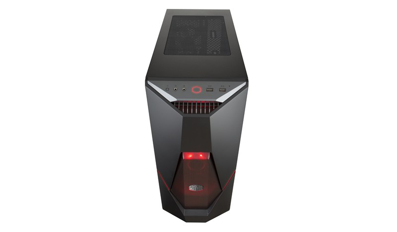 Корпус Cooler Master MasterBox K500L Red LED (MCB-K500L-KANN-S00) Black (Miditower, ATX, 3xFan, USB 3.0, Window)