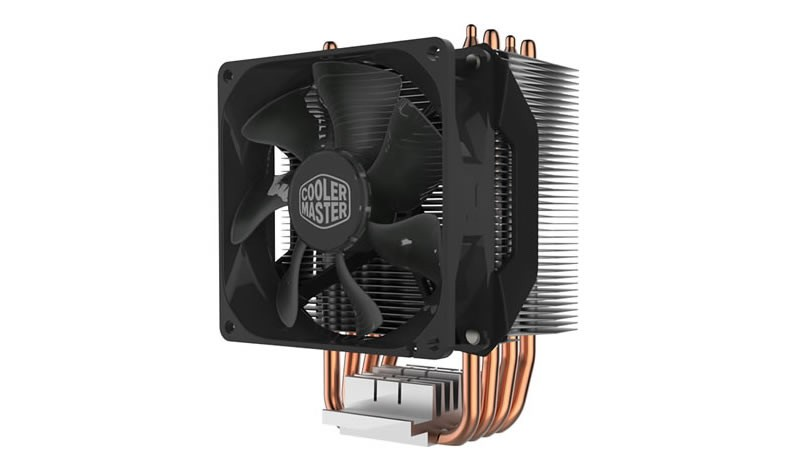 Вентилятор Cooler Master Hyper H412R (RR-H412-20PK-R2) (600-2000rpm, 29.4dBA, 34.1CFM, 4-pin, 140W) (Socket All)