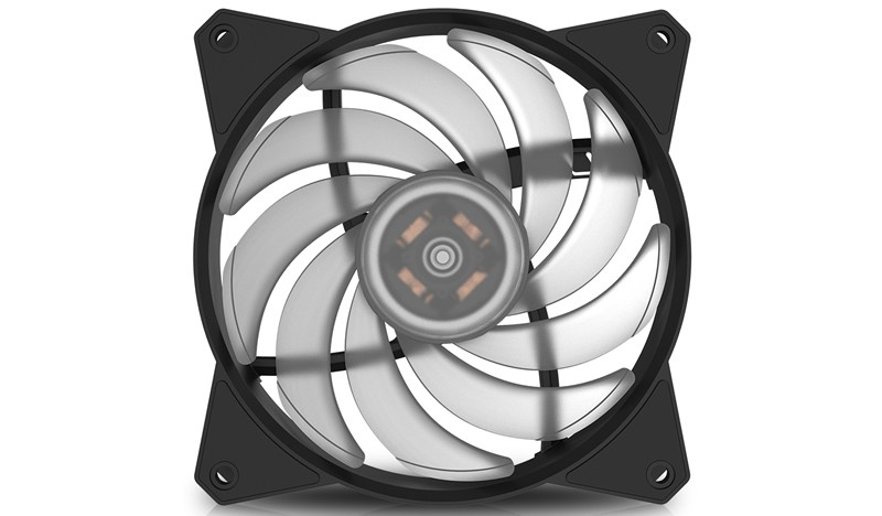 Вентилятор Cooler Master MasterFan MF120R RGB (R4-C1DS-20PC-R1) (120мм, 59CFM, 31дБа, RGB, 4-pin)