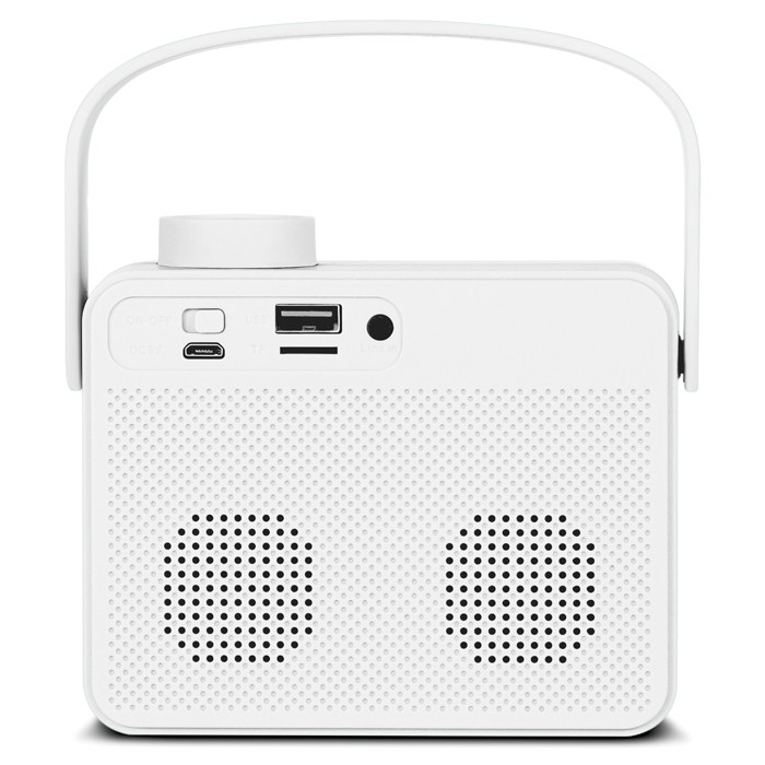 Колонки Sven PS-72 White (6W, Bluetooth, FM, USB, аккумулятор)