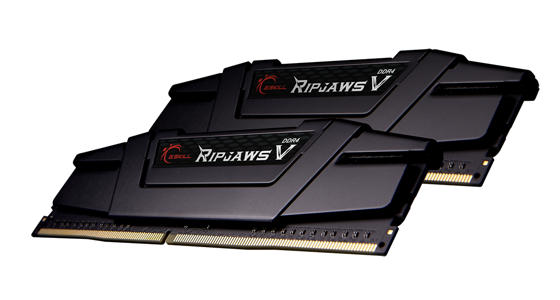 Модуль памяти 32Gb (2*16Gb) G.Skill Ripjaws V (F4-3200C16D-32GVK) 3200MHz PC-25600