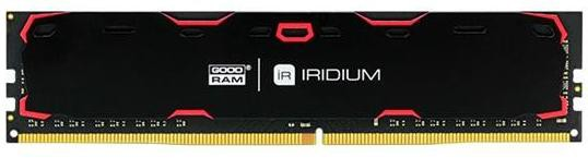 Модуль памяти 8Gb Goodram Iridium (IR-2400D464L15S/8G) 2400MHz PC-19200 15-15-15 1.2V