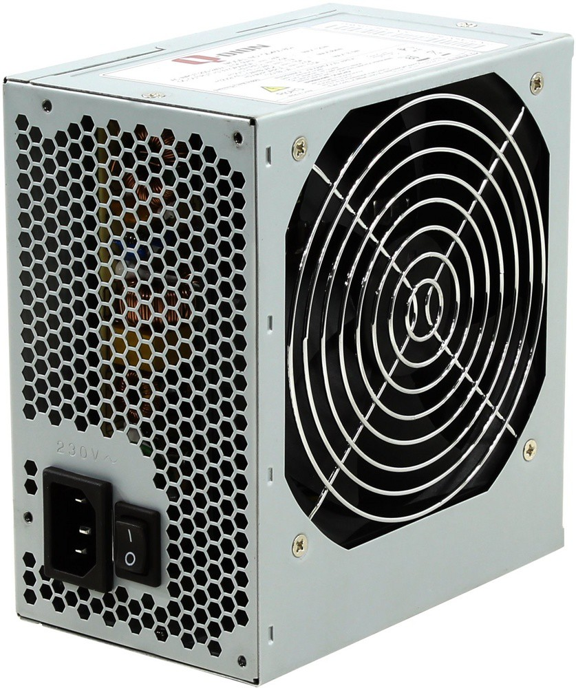 Блок питания 450W FSP Group Qdion QD450 80+ (120mm, 120mm, 24+4pin, 6pin, 2xMolex, 2xSATA)