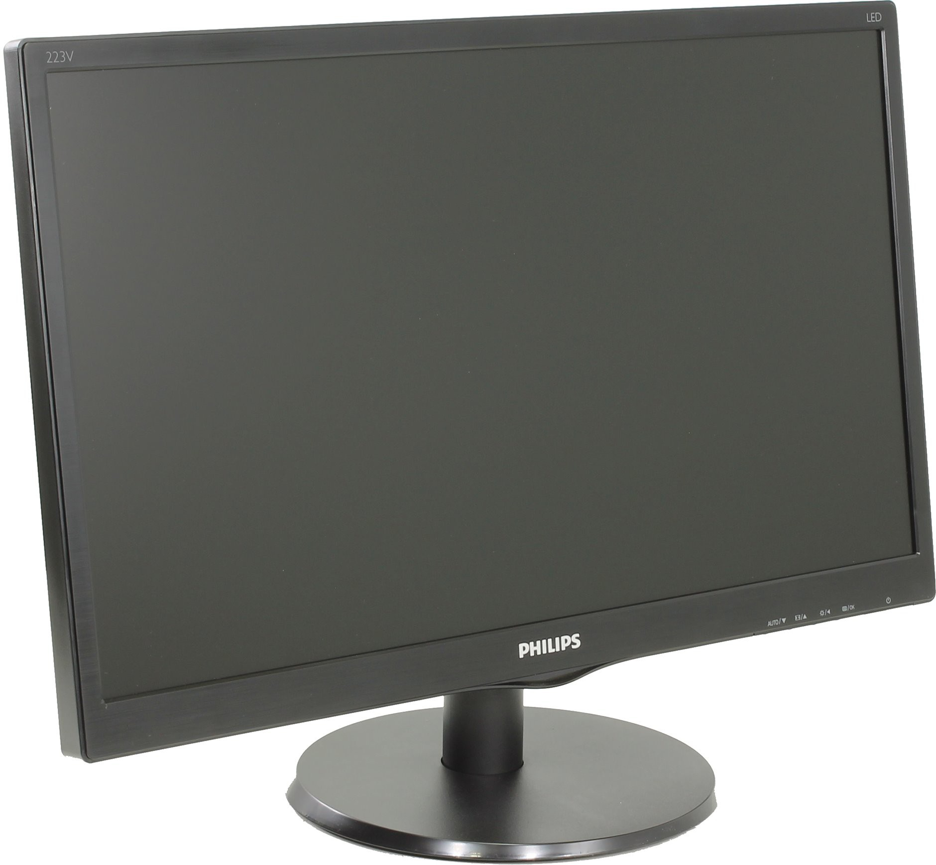 "Монитор 21.5"" Philips 223V5LSB/62 Black (1920x1080, TN+Film, D-Sub (VGA))"