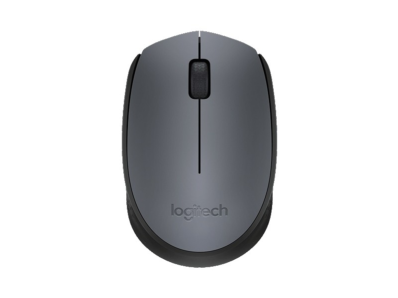 Мышь Logitech Wireless M170 (910-004642) Gray (1000dpi, 3 кнопки)