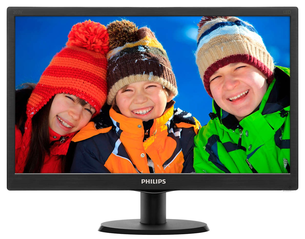 "Монитор 19"" Philips 203V5LSB26/62 Black (1600x900, D-Sub)"