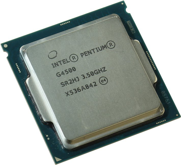 Процессор Intel Pentium G4500 3.5GHz, 2core, 3Mb, HD Graphics 530, 51W (Socket 1151)