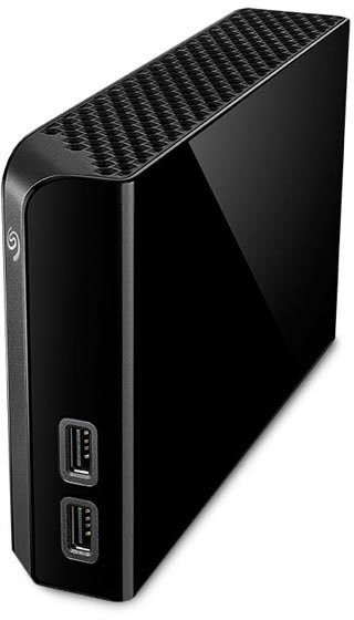 "Внешний жесткий диск 8Tb Seagate Backup Plus Hub (STEL8000200) Black 3.5"" USB 3.0"