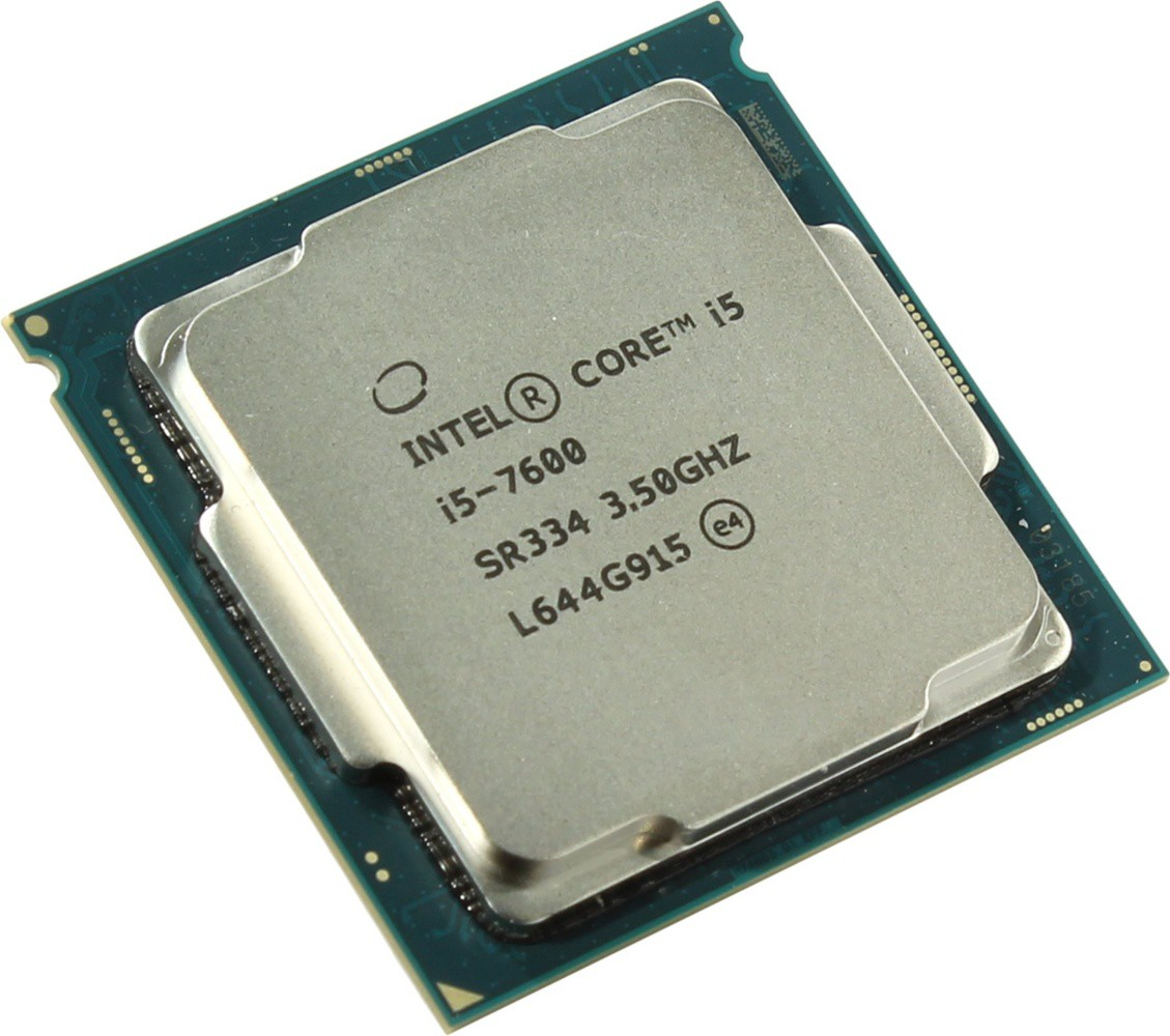 Процессор Intel Core i5-7600 (3.5(4.1)GHz, 4core, 6Mb, HD Graphics 630, 65W) (Soc1151)