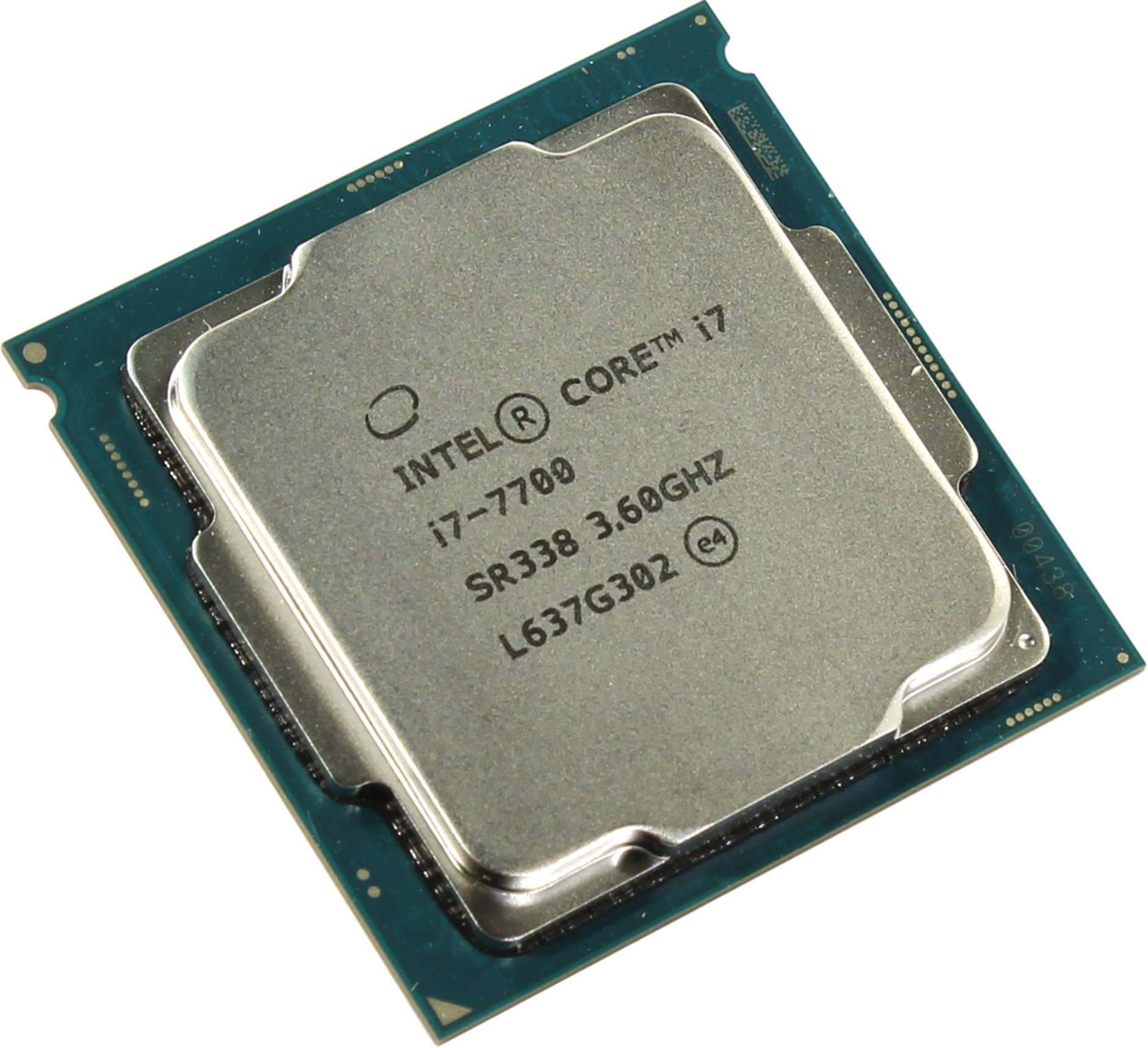 Процессор Intel Core i7-7700 (3.6(4.2)GHz, 4core, 8Mb, HD Graphics 630, 65W) (Socket 1151)