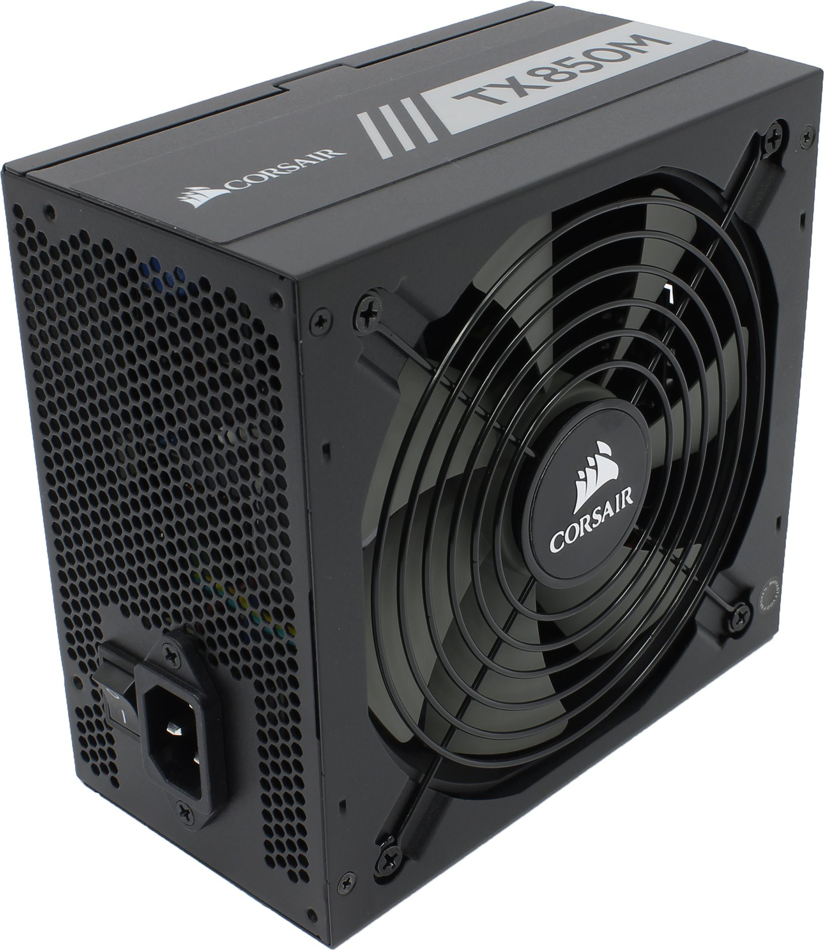 Блок питания 850W Corsair TX850M (CP-9020130-EU) (140mm, 24+8pin, 4x6/8-pin, 8xMolex, 8xSATA, 80+ Gold, Cable Management)