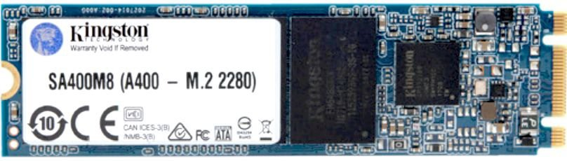 Жесткий диск SSD 120Gb Kingston A400 (SA400M8/120G) (SATA-6Gb/s, M.2, 500/320Mb/s)