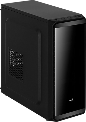 Корпус Aerocool SI-5200 Black (Miditower, ATX, USB 3.0, Fan)