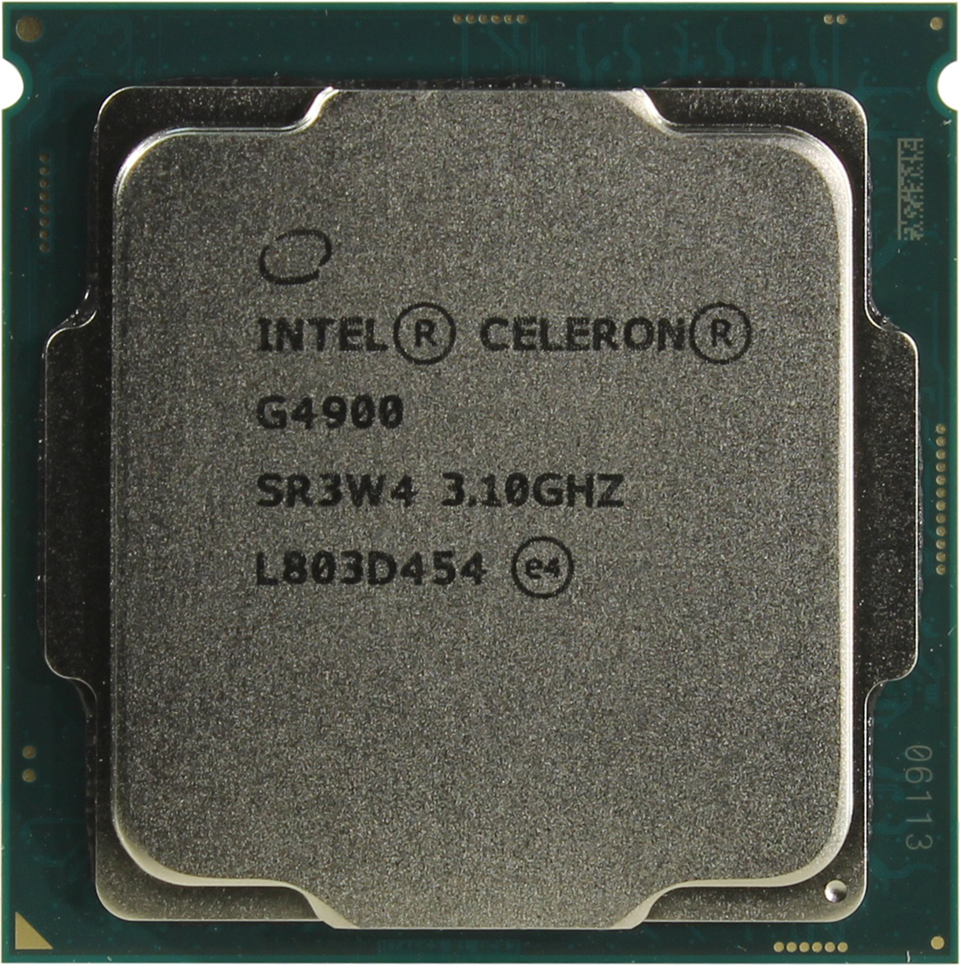 Процессор Intel Celeron G4900 3.1GHz, 2 ядра / 2 потока, 2MB, HD Graphics 610, 54W (Socket 1151)