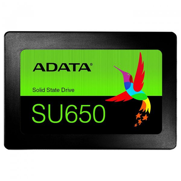 "Жесткий диск SSD 120Gb A-Data Ultimate SU650 (ASU650SS-120GT-R) (SATA 6Gb/s, 2.5"", 520/320Mb/s)"