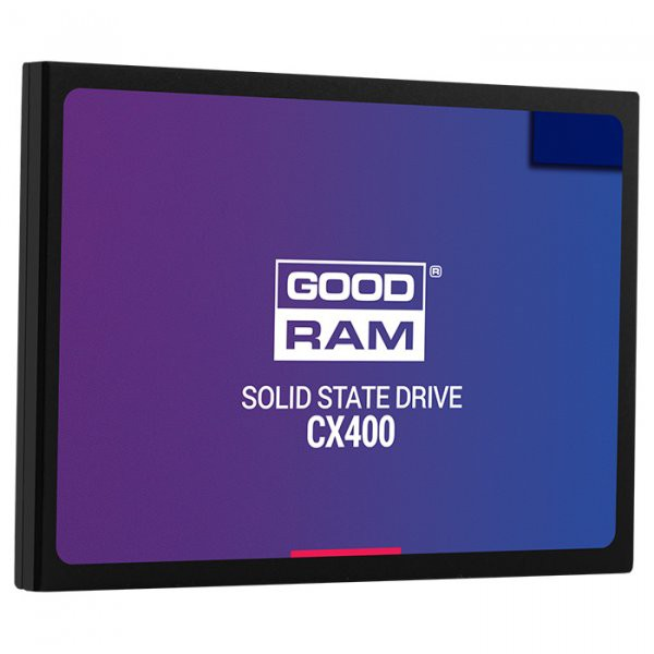 "Жесткий диск SSD 256Gb Goodram CX400 (SSDPR-CX400-256) (SATA-6Gb/s, 2.5"", 550/490Mb/s)"