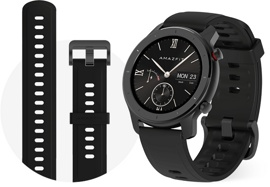 Умные часы Amazfit GTR 42.6mm Starry Black (A1910)