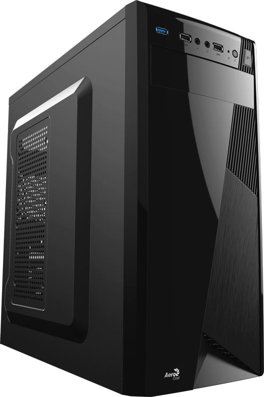 Корпус Aerocool CS-1101 (Midtower, ATX, USB3, Fan)