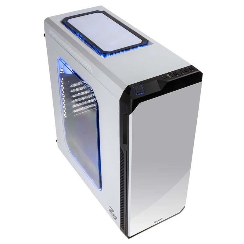Корпус Zalman Z9 Neo White (Miditower, ATX, USB 3.0, 5xFan, Window)