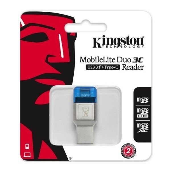 Картридер Kingston MobileLite Duo 3C (FCR-ML3C) USB Type-C