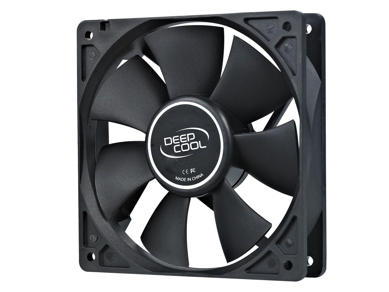 Вентилятор DeepCool XFAN 120 Black (120mm, для кор-са, 1300rpm, 23.7dBA, 3pin + Molex)