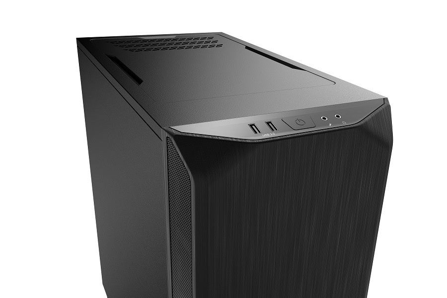 Корпус be quiet! PURE BASE 500 BLACK (BG034) (Miditower, ATX, 2xUSB 3.0, 2xFan, шумоизоляция, без БП)