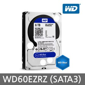 Жесткий диск 6Tb Western Digital Blue (WD60EZRZ) SATA-6Gb/s 5400rpm 64Mb
