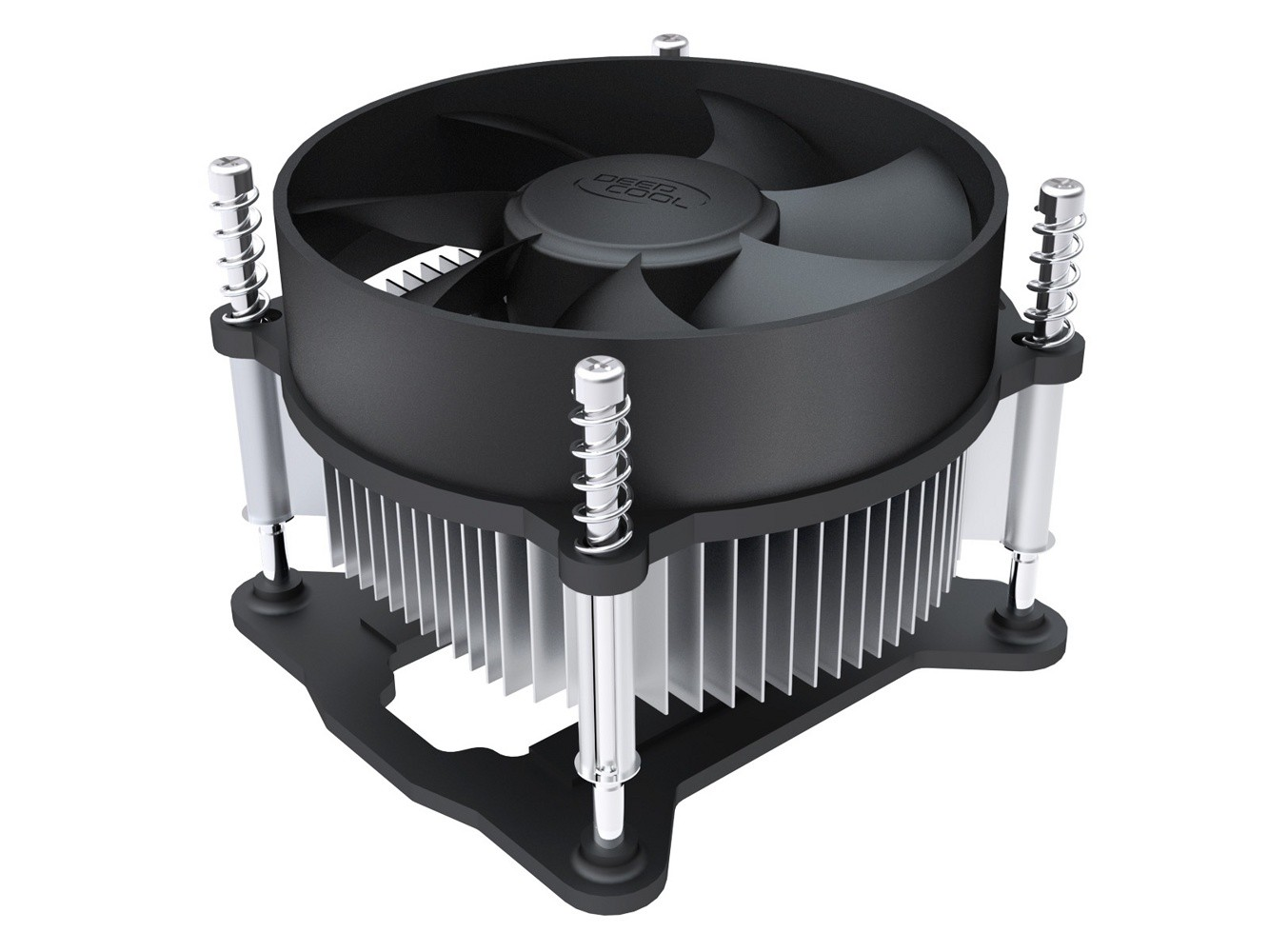 Вентилятор DeepCool CK-11508 (2200rpm, 30.1dB, 42.35 CFM, 3-pin, 65W) (Socket 1155/1150/1151)