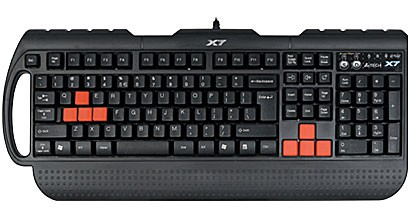 Клавиатура A4Tech X7 G700 Black PS/2, Multimedia GAMERS, Waterproof