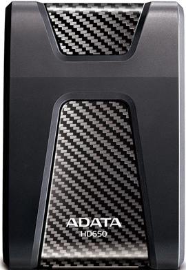 Внешний жесткий диск 2Tb A-Data DashDrive Durable HD650 (AHD650-2TU31-CBK) Black Waterproof, Shockproof USB 3.0