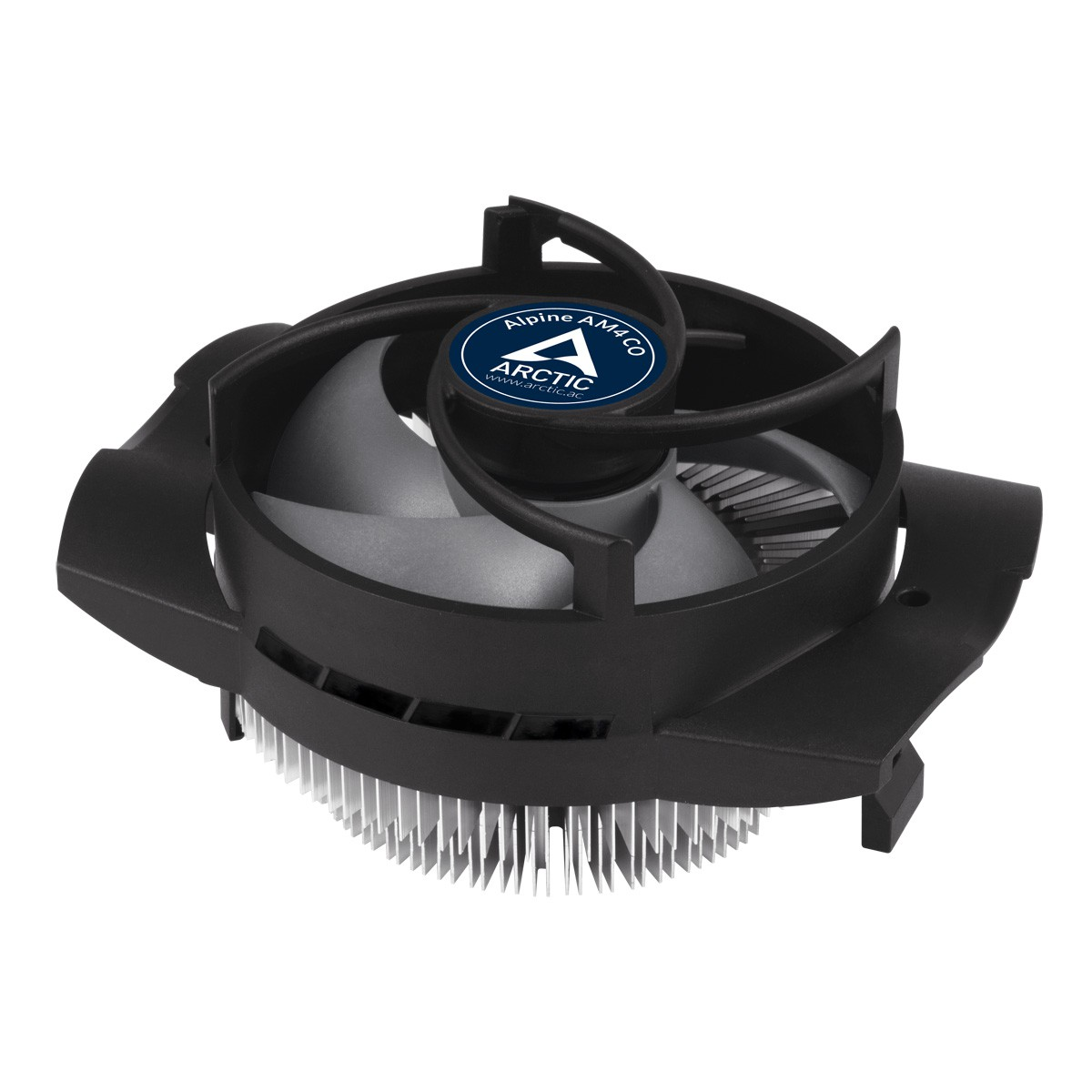Вентилятор Arctic Cooling Alpine AM4 CO (ACALP00032A) (SocAM4/AM3/AM3+/AM2/AM2+/AM1/FM2/FM2+/FM1, 100-2700RPM, 25dBa, 95W, 4-pin)