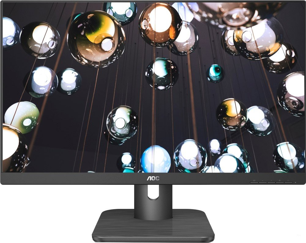 "Монитор 23.8"" AOC 24E1Q Black (1920x1080, IPS, Flicker free, D-Sub (VGA), HDMI, DisplayPort, колонки)"