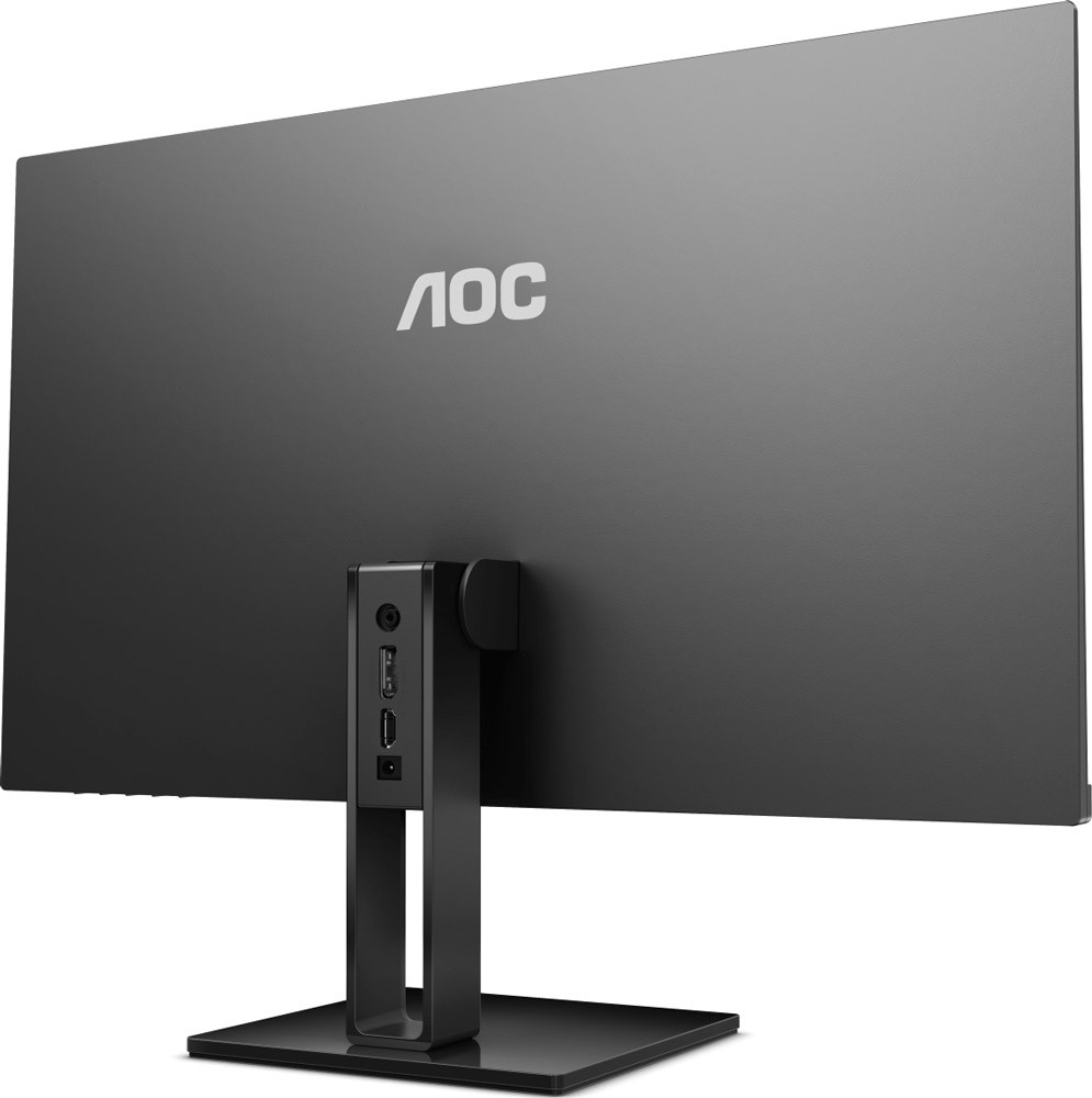 "Монитор 23.8"" AOC 24V2Q Black (1920x1080, IPS, 75 Гц, Flicker free, FreeSync, HDMI, DisplayPort)"