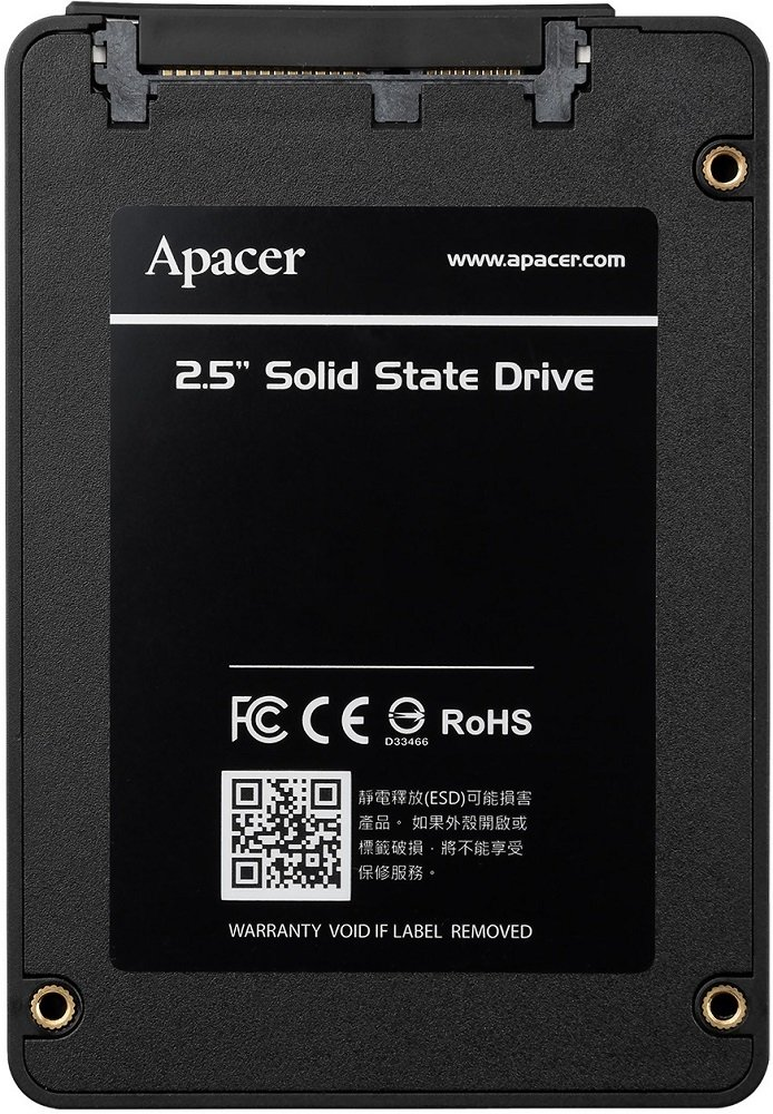 Жесткий диск SSD 480Gb Apacer AS340 Panther (AP480GAS340G-1)