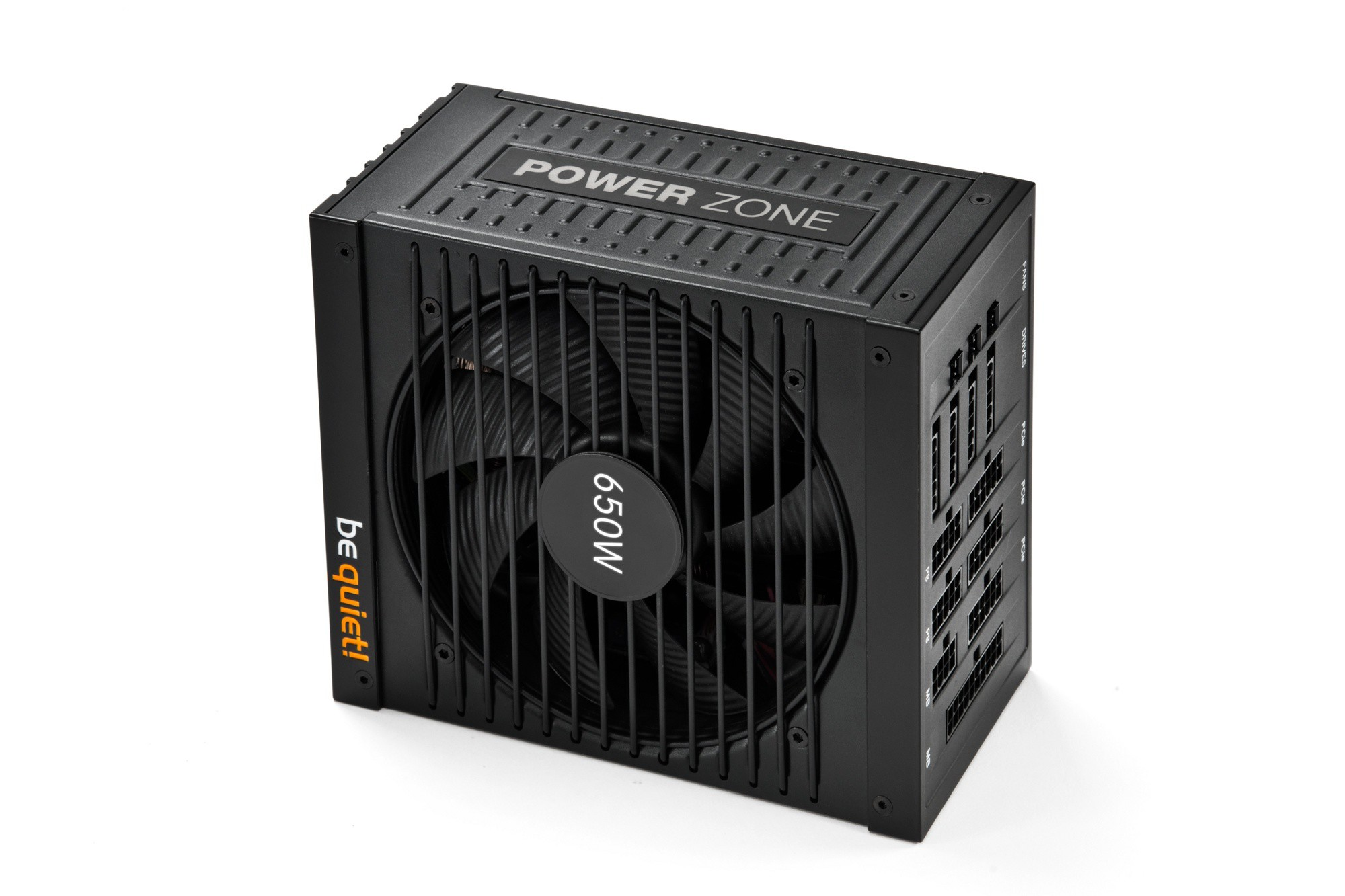 Блок питания 650W be quiet! Power Zone (BN210) (24+8pin, 4x6/8pin, 4xMolex, 10xSATA, 80+ Bronze, модульный)