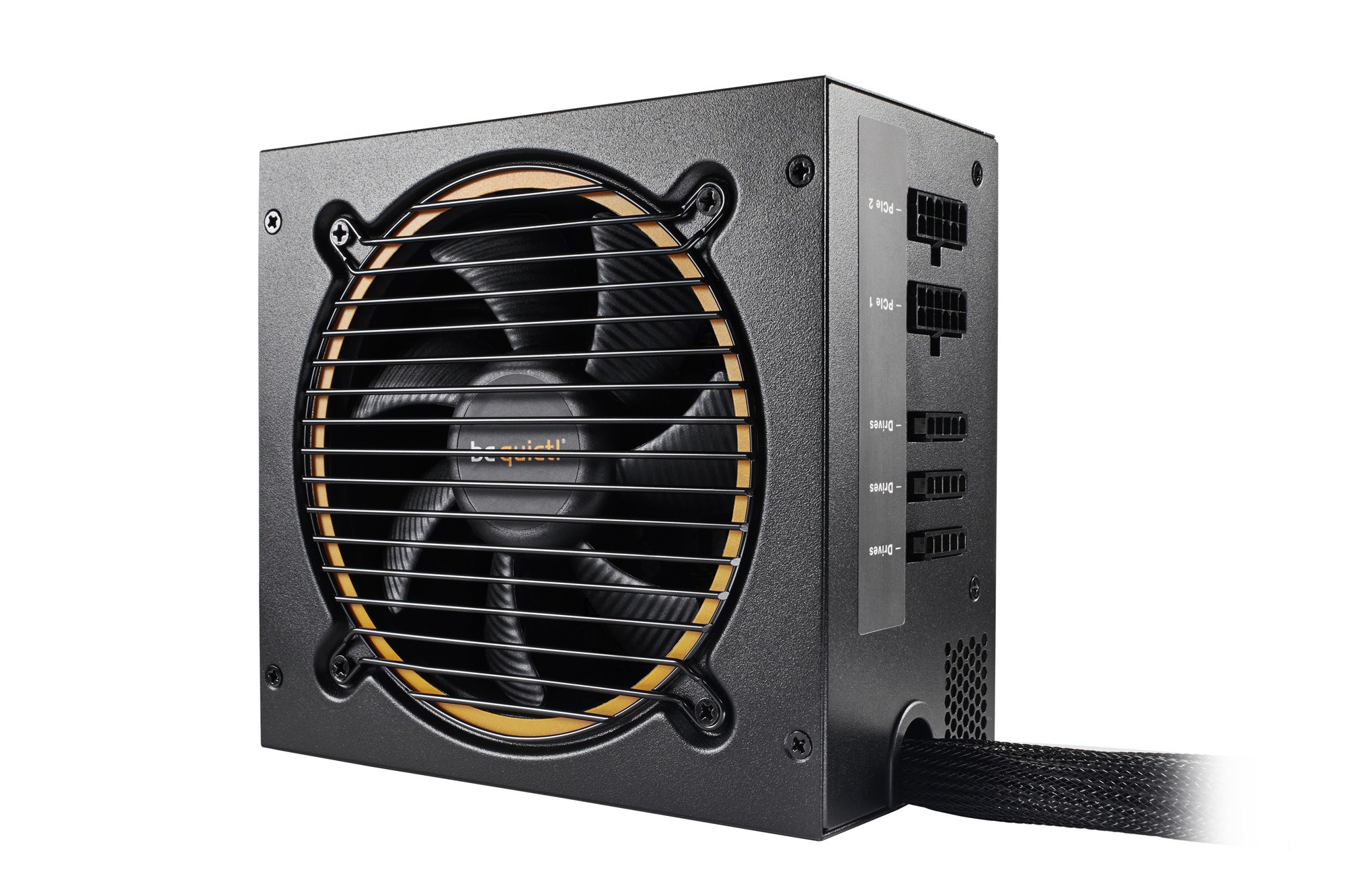 Блок питания 500W be quiet! Pure Power 11 500W CM (BN297) (24+8pin, 2x6/8pin, аPFC, 3xMOLEX, 6xSATA, 80+ Gold)