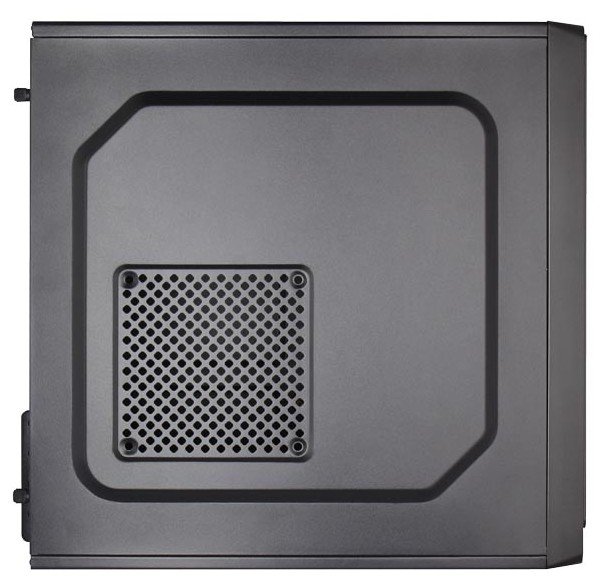 Корпус Aerocool Cs-100 Black (Minitower, microATX, Fan)