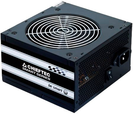 Блок питания 450W Chieftec GPS-450A8 (120mm, 24+4-pin, 1x6/8-pin, 2/1/3)