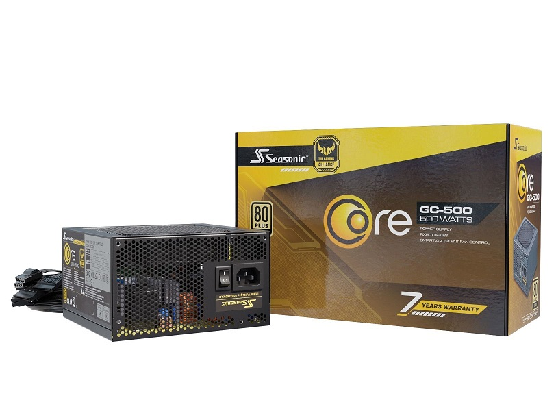 Блок питания 500W SeaSonic Core GC-500 (SSR-500LC)